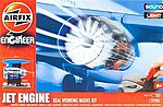 Jet Engine Working Model Kit w/Sound & Lights -- Plastic Model Engine Kit -- #20005