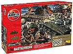 Battle Front Diorama Gift Set -- Plastic Model Military Diorama Kit -- 1/72 Scale -- #50009