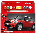 Mini Cooper 5 Car Starter Set -- Plastic Model Car Truck Vehicle Kit -- 1/32 Scale -- #50125