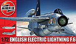 EE Lightning F6 Single-Seater Fighter -- Plastic Model Airplane Kit -- 1/72 Scale -- #5042