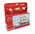 HMS Victory Sailing Ship (6L) -- Plastic Model Sailing Ship Kit -- #55104