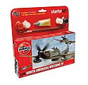 P51D Mustang Fighter -- Plastic Model Airplane Kit -- 1/72 Scale -- #55107