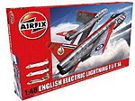 EE Lightning F1/F1A/F2/F3 Interceptor Aircraft -- Plastic Model Airplane Kit -- 1/48 Scale -- #9179