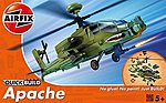 Apache Helicopter -- Quick Build -- Snap Tite Plastic ModelHelicopter Kit -- #j6004