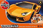 Lamborghini Aventador Car Quick Build Kit -- Snap Tite Plastic Model Vehicle -- #j6007
