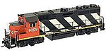 EMD GP40 - Standard DC Canadian National #9309 -- HO Scale Model Train Diesel Locomotive -- #1000082