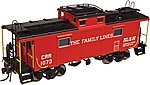 NE-6 Caboose Family Lines 1080 -- HO Scale Model Train Freight Car -- #20003602