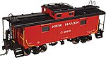 NE-6 Caboose New Haven #C-707 -- HO Scale Model Train Freight Car -- #20003604