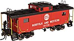 NE-6 Caboose Norfolk & Western 557732 -- HO Scale Model Train Freight Car -- #20003606