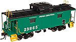 NE-6 Caboose Penn Central 19800 -- HO Scale Model Train Freight Car -- #20003607