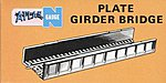 Plate Girder Bridge -- Code 80 -- N Scale Model Railroad Bridge -- #2548