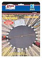 Turntable -- N Scale Nickel Silver Model Train Track -- #2790
