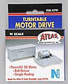 Turntable Motor Drive Unit -- N Scale Nickel Silver Model Train Track -- #2791