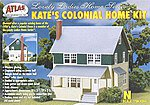 Kate's Colonial Home Kit -- N Scale Model Railroad Building -- #2844