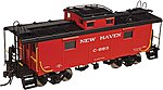 NE-6 Caboose New Haven #C-707 -- N Scale Model Train Freight Car -- #50002510