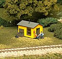 Trackside Shanty Kit -- HO Scale Model Railroad Building -- #702