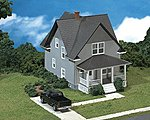 Kim's Classic American Home Kit -- HO Scale Model Railroad Building -- #713