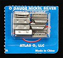 Rail Joiners (16) -- O Scale Nickel Silver Model Train Track -- #6091