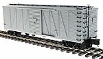 USRA 40' Single-Sheathed Wood Boxcar 3-Rail Undecorated -- O Scale Model Train Freight Car -- #6450