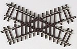 Code 148 2-Rail - 45 Degree Crossing -- O Scale Nickel Silver Model Train Track -- #7081