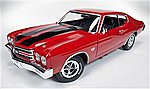 1970 TopGear Chevy Chevelle SS -- Diecast Model Car -- 1/18 Scale -- #1021