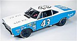 1968 Plymouth Road Runner Petty -- Diecast Model Car -- 1/18 Scale -- #210