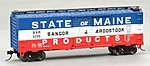 40' Boxcar BAR State of Maine Products 5226 -- HO Scale Model Train Freight Car -- #17038