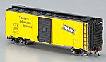 AAR 40' Steel Box Toronto/Hamilton & Buffalo -- N Scale Model Train Freight Car -- #17055
