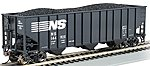 100 ton 3-Bay Hopper Norfolk Southern #144920 -- HO Scale Model Train Freight Car -- #18709