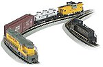 Golden Spike Set w/DCC -- N Scale Model Train Set -- #24131