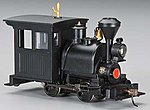 Porter 0-4-0 w/DCC Painted, Unlettered -- On30 Scale Model Trian Steam Locomotive -- #28098