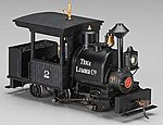 Porter 0-4-2 w/DCC Tioga Lumber Co. #2 -- On30 Scale Model Trian Steam Locomotive -- #28259