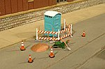 Building Site Accessories -- O Scale Model Railroad Building Accessory -- #33164