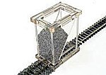 Ballast Spreader N Scale -- Model Railroad Ballast -- #39002