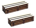 Timber Loads (2) -- HO Scale Model Railroad Building Accessory -- #39107