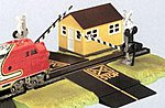 Dual Crossing Gate -- HO Scale Model Railroad Trackside Accessory -- #44579