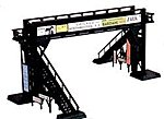 Pedestrian Bridge Snap Kit -- HO Scale Model Railroad Bridge -- #45172