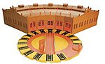 Deluxe Tidmouth Sheds (5)w/Manual Turntable -- Thomas-the-Tank Electric Accessory -- #45236