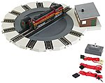 Motorized Turntable -- N Scale Model Railroad Operating Accessory -- #46799