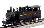 0-6-0 Porter Side Tank Pennsylvania #2780 -- HO Scale Model Train Steam Locomotive -- #52104