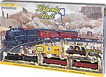 Liberty Bell Special Train Set -- HO Scale Model Train Set -- #711