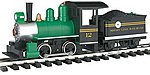 Li'l Big Haulers Loco w/Tender Short Line RR -- G Scale Model Train Steam Locomotive -- #91498