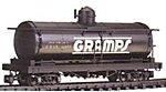Tank Car Gramps UTLX #11050 -- G Scale Model Train Freight Car -- #93445