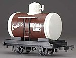Tank Car Li'l Big Haulers - Bud's Chocolate Sauce -- G Scale Model Train Freight Car -- #98088
