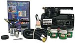 Complete Hobby Set with Compressor -- Airbrush Compressor -- #314-hswc