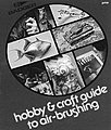 Hobby & Craft Guide to Air-Brushing -- Airbrush Modeling Book -- #500