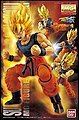 SUPER SAIYANN SON GOKU 1-8 MG -- Snap Together Plastic Model Figure -- #162391