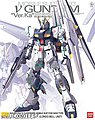 Nu GUNDAM ver KA MG -- Snap Together Plastic Model Figure -- #178604