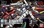 HG Universal Century Series- #165 Gundam F91 -- Snap Together Model Figure -- 1/144 -- #185142
