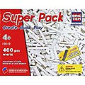 White Super Pack 400pcs -- Building Block Set -- #19019